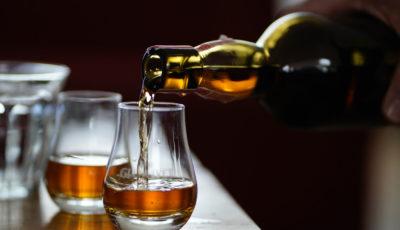 Destillatprobe mit dem Hotel Kaiser